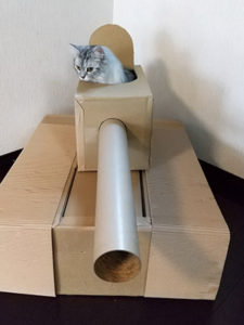 猫軍曹大活躍